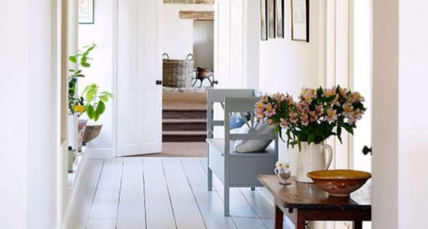 Hallway Modern Oxfordshire Country House Tour