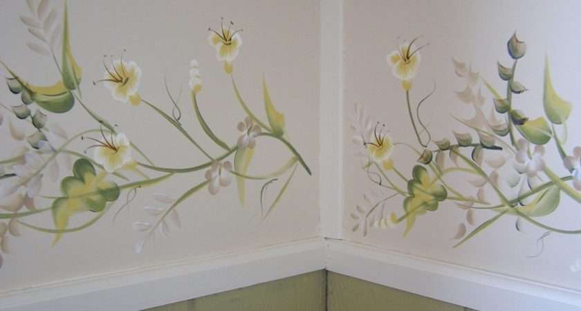 Hand Painted Wall Borders Your Home Office Please Call