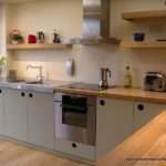 Handmade Kitchen Oak French Grey Doors