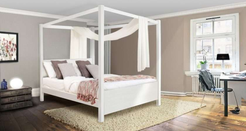 Handmade Wooden Summer Four Poster Bed Get Laid Beds