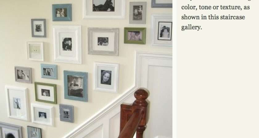 Hanging Art Staircase Wall Pinterest