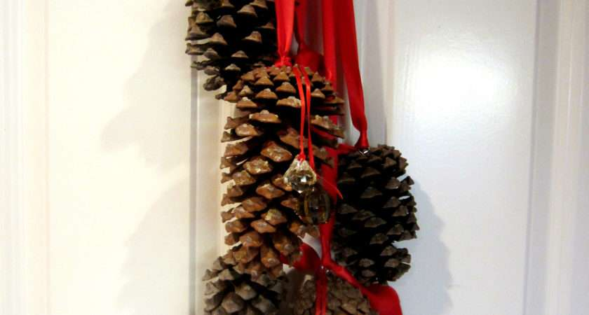 Hanging Pine Cone Decoration Diy Inspired