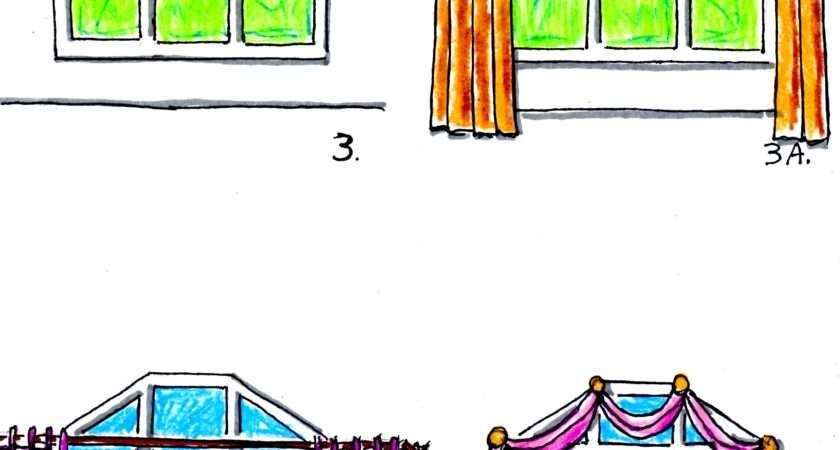 Hanging Valances Curtains Drapes Different Kinds