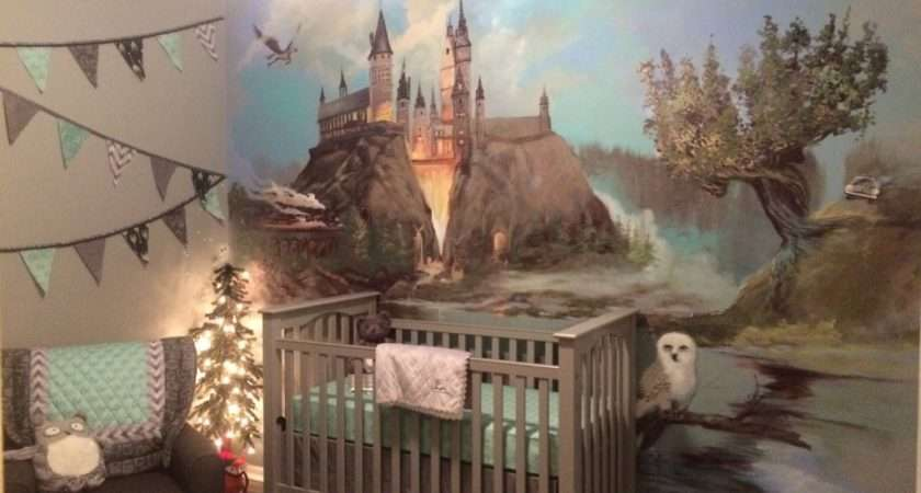 Harry Potter Inspired Nursery Project