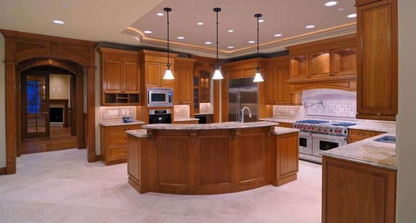 Has Kitchens Featuring Golden Brown Wood