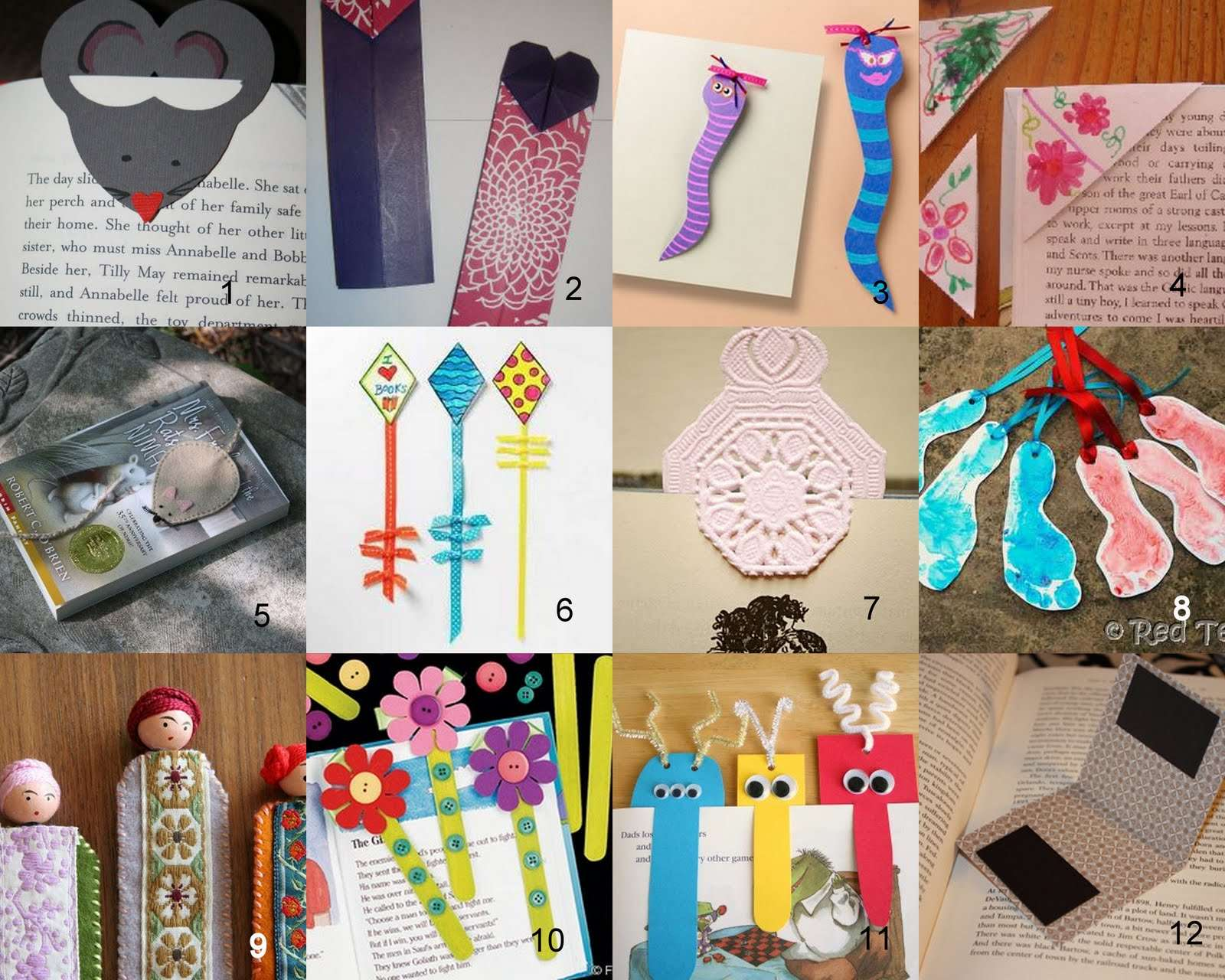 Having Fun Home Bookmark Craft Ideas