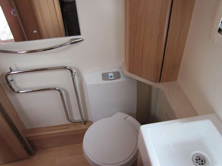 Heated Alde Wet Central Heating System Also Thetford Electric