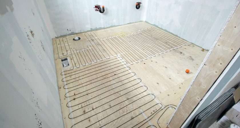Heated Tile Floor Also Not Install