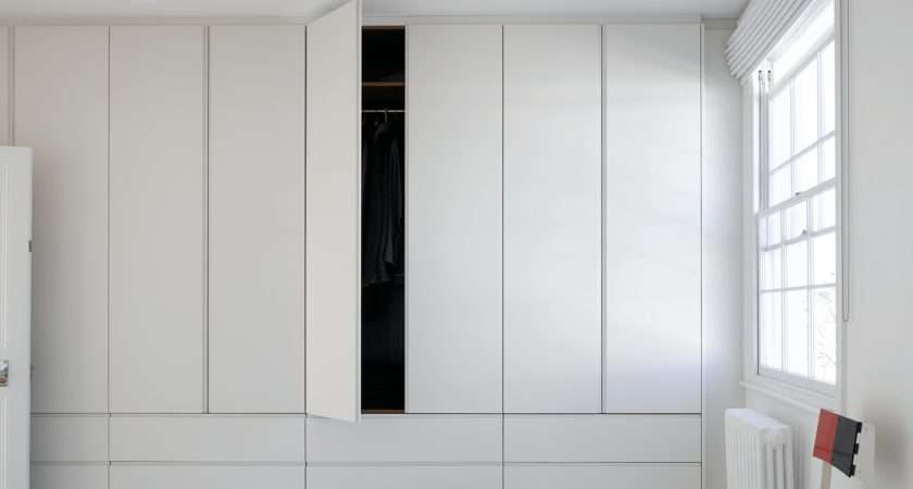Height Simple White Wardrobes Drawers