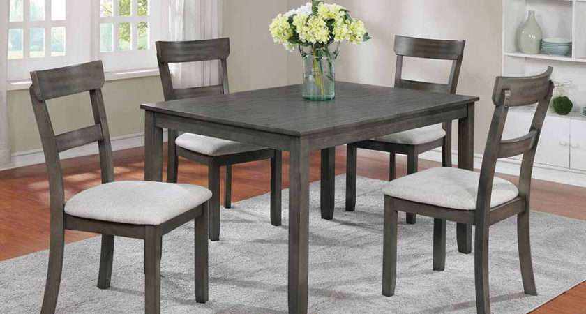 Henderson Grey Dining Set American Freight
