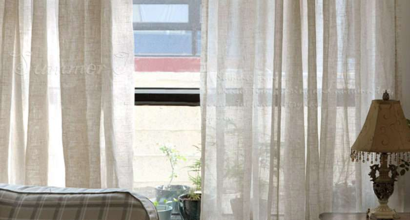 High American Country Style Curtains Living