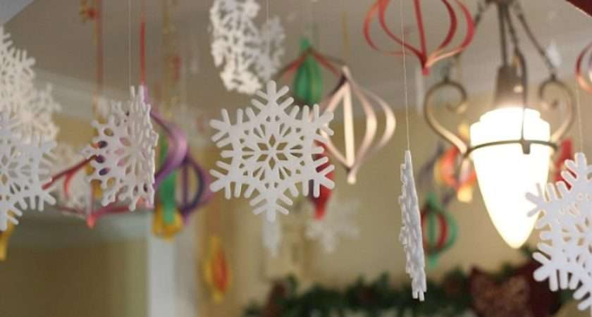High Impact Low Budget Paper Craft Decorations