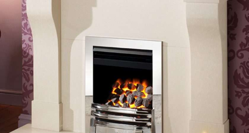 High Output Crystal Fires Gem Open Fronted Inset Gas