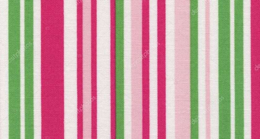 High White Fabric Pink Green