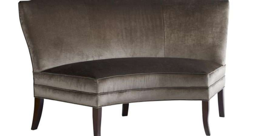 Highland House Dining Room Cucina Curved Banquette