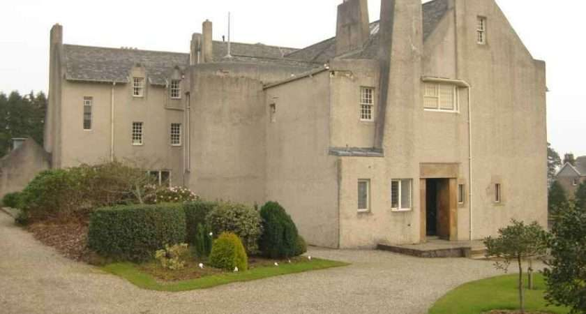 Hill House Rennie Mackintosh Scotland Helensburgh Property