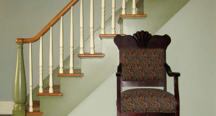 Historic Cottage Renovation Staircase Traditional