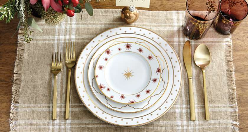 Holiday Place Setting Ideas Decorate