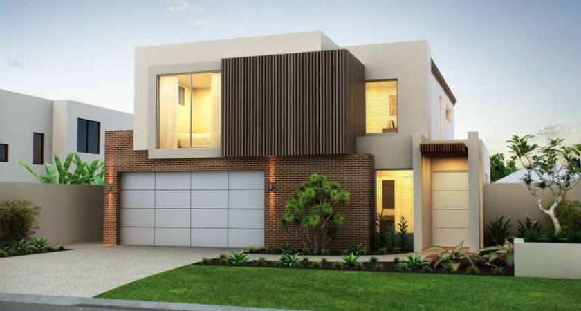 Home Architecture Modern House Facade