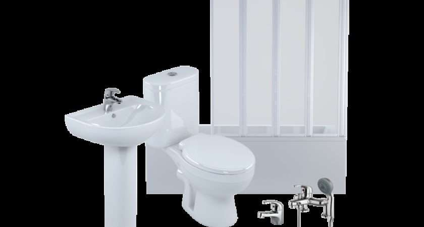 Home Bathroom Suites Soane Straight Shower Bath Package