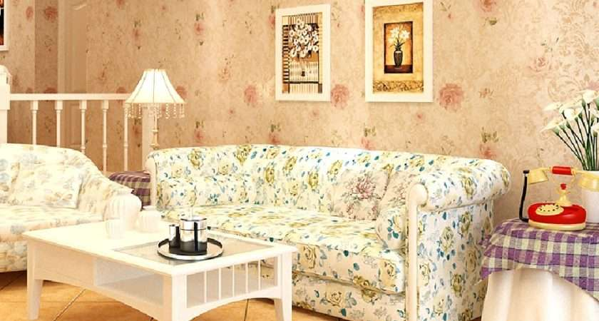 Home Decorating American Country Style Living Room New