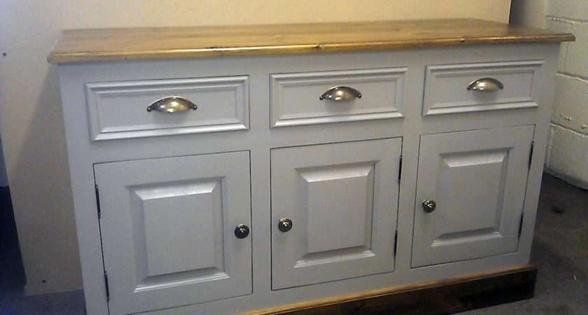 Home Diningroom Furniture Shabby Chic Painted Pine Sideboard