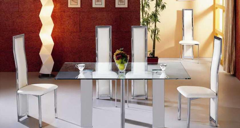 Home Furniture Modern Dining Tables Small Spaces