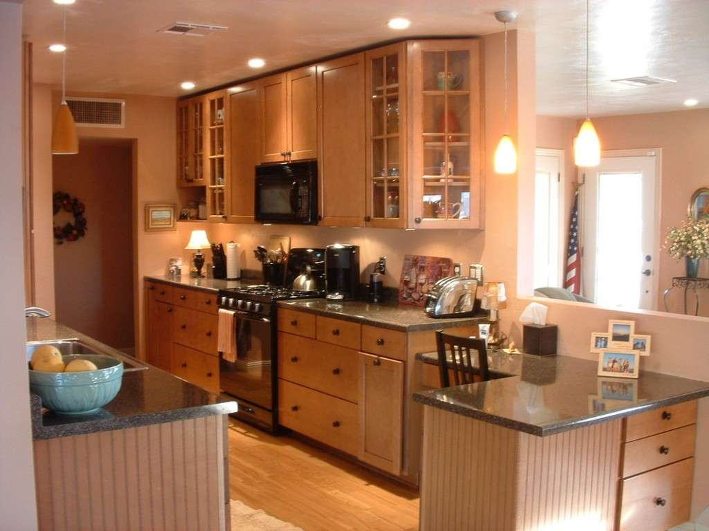 Home Interior Design Remodeling Renovate Galley Kitchen