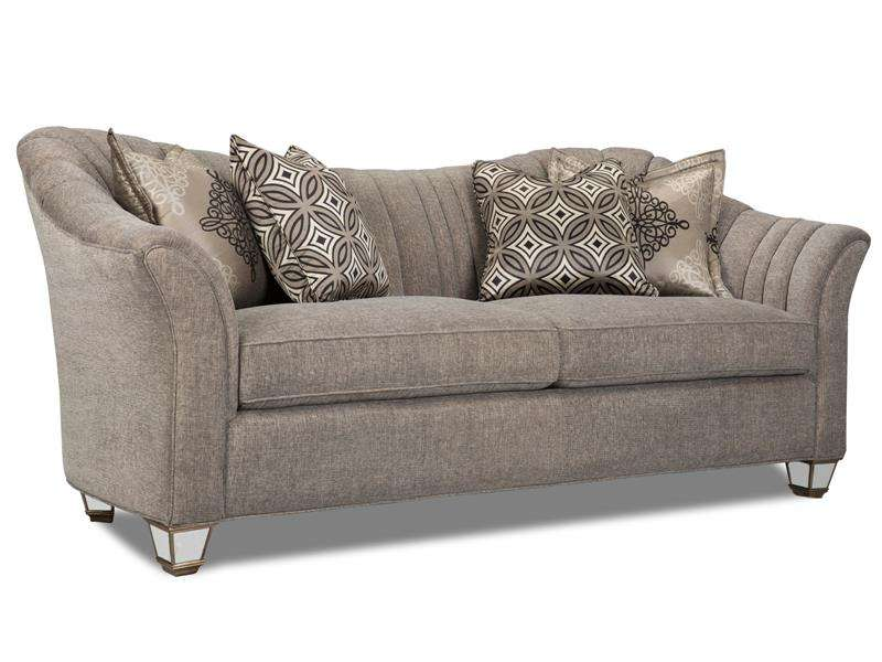 Home Living Room Pewter Sofa Rosso Furniture