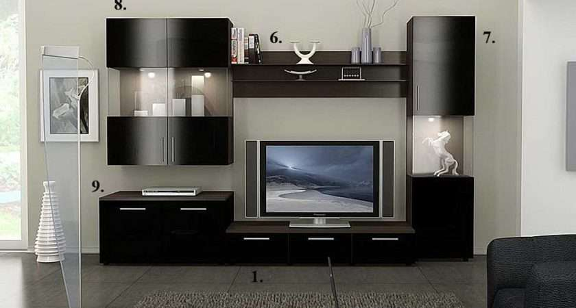 Home Living Room Wall Units Alfredo Stand Collection