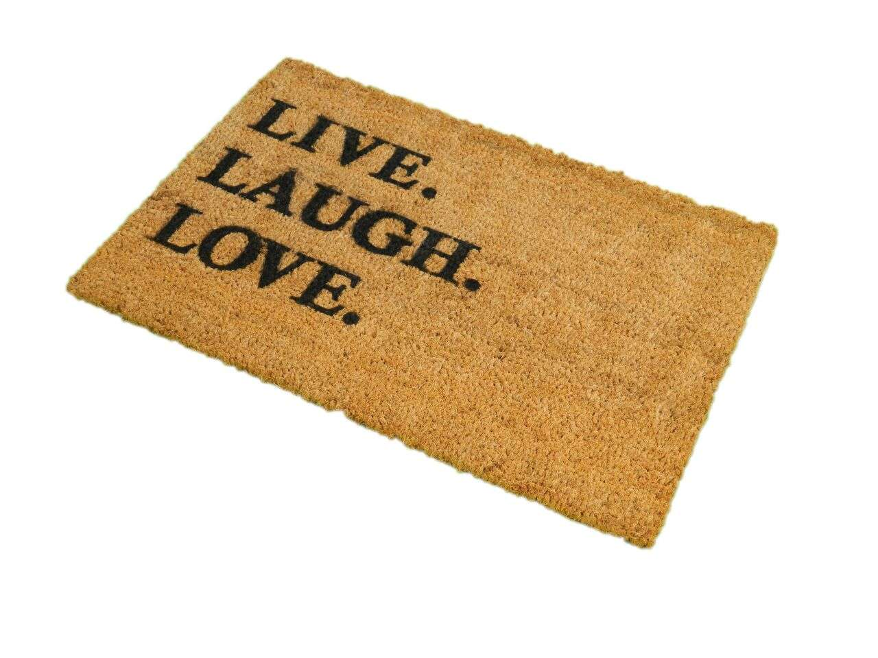 Home Printed Gifts Doormats Live Laugh Love Doormat