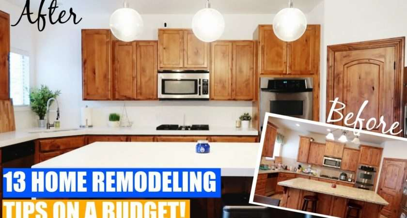 Home Remodeling Tips Ideas Budget Before