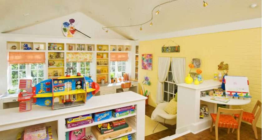 Home Sweet Kids Craft Play Room