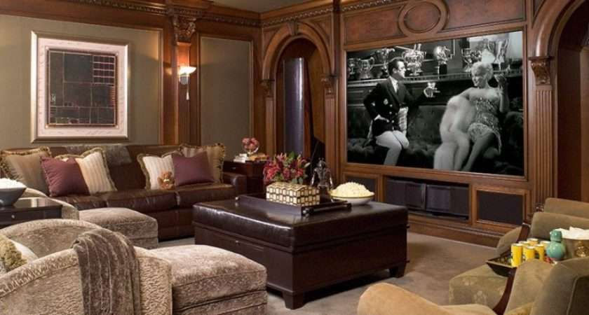 Home Theater Room Designs Design Elements