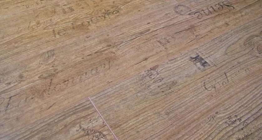 Homebase Chateau Oak Groove Laminate Flooring