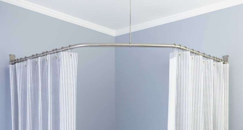 Homebase Shower Curtain Rod Cintronbeveragegroup