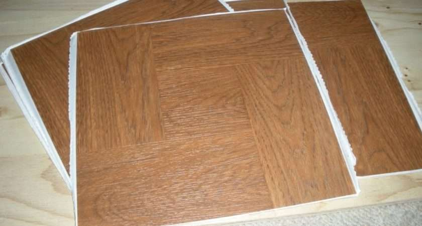 Homebase Vinyl Floor Tiles Self Adhesive Flooring