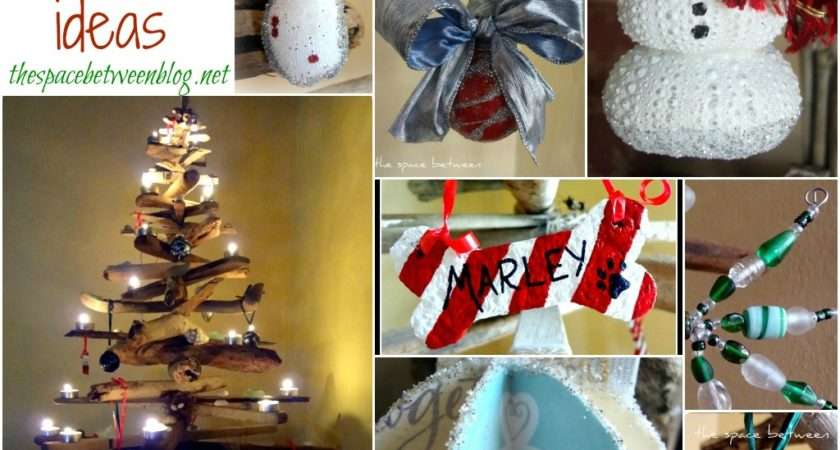 Homemade Christmas Ornament Ideas Space Between