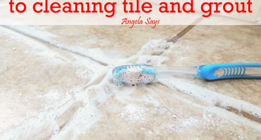 Hometalk Best Kept Secret Cleaning Tile Grout