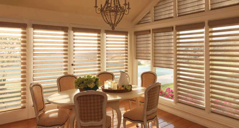 Honeycomb Shades Woven Wood Roman Novi Windows