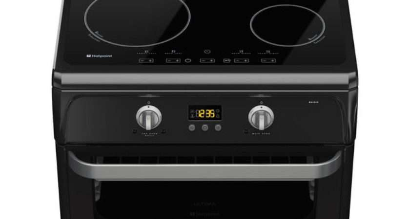 Hotpoint Ultima Hui Electric Induction Cooker Black Ebay