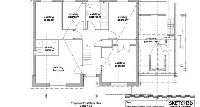 House Extension Design Proposed First Floor Plan