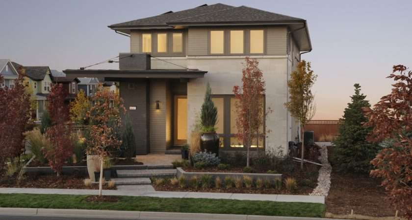 House Exterior Design Ideas Modern Brown Color
