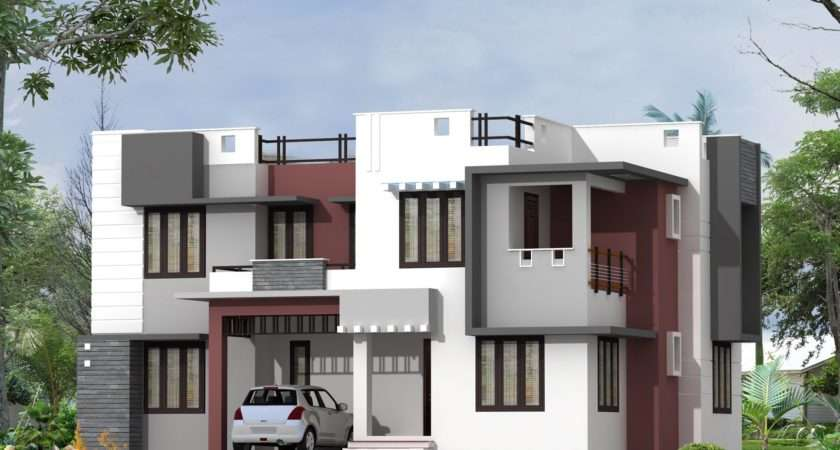 House Front Elevation Design Double Floor Theydesign