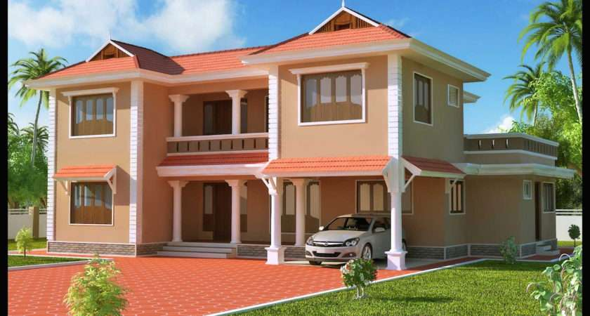 House Painting Colors Kerala Style Home Combo