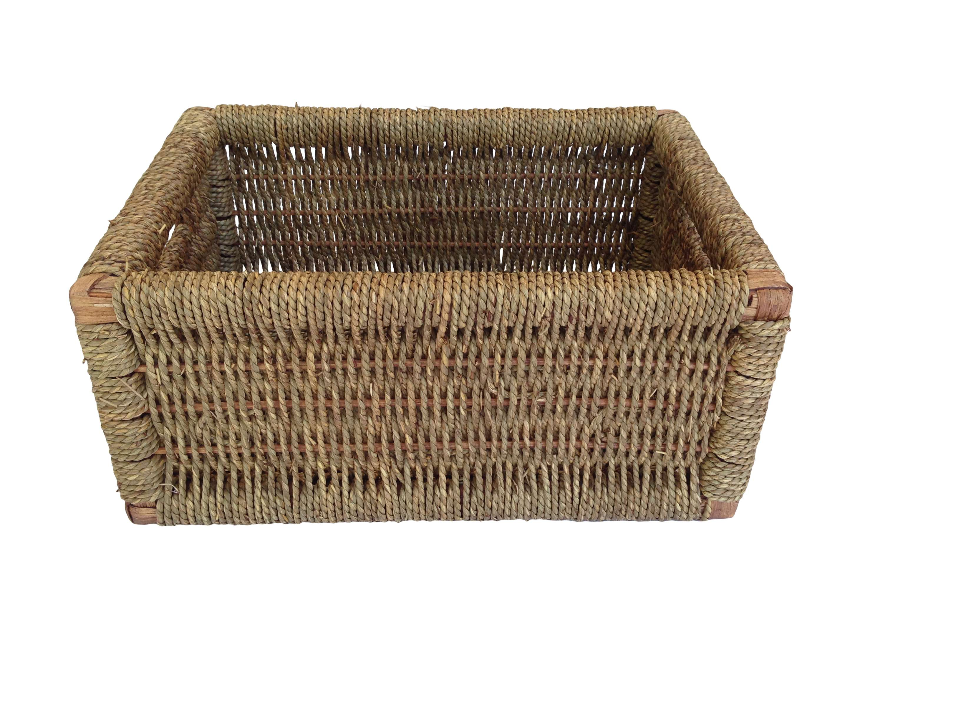 House Seagrass Storage Basket Large Home Company Ltd
