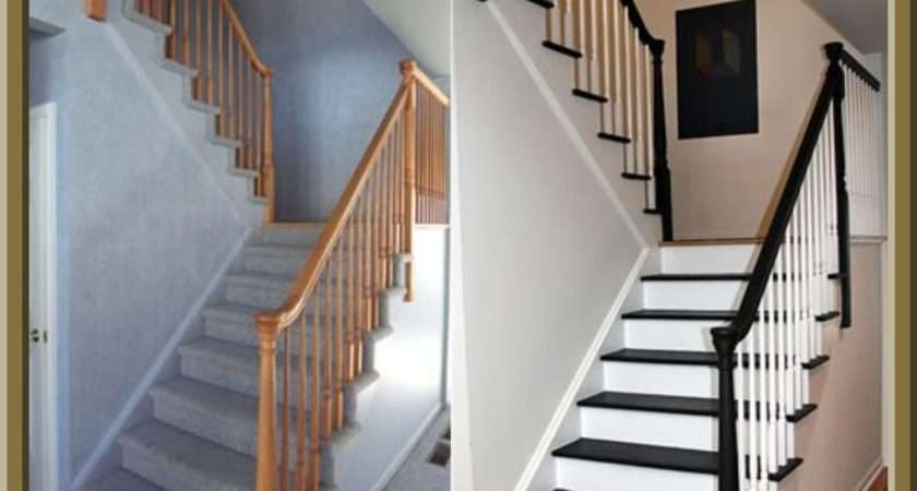 Ideal Diy Painted Stairs Home Ideas Pinterest