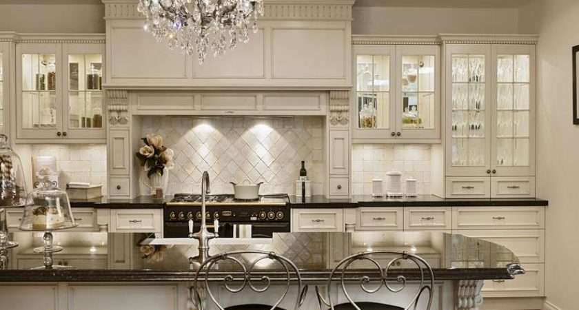 Ideas Awesome French Country Style Kitchen White