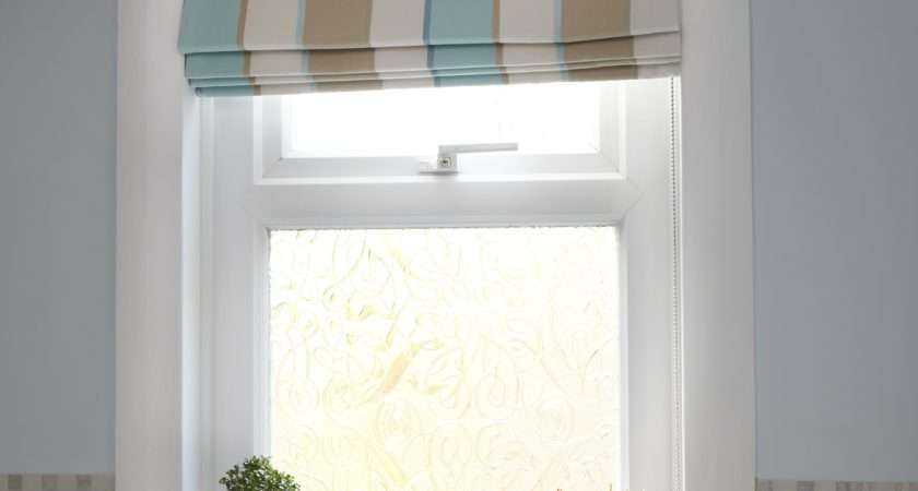 Ideas Bathroom Roman Blinds Curtain