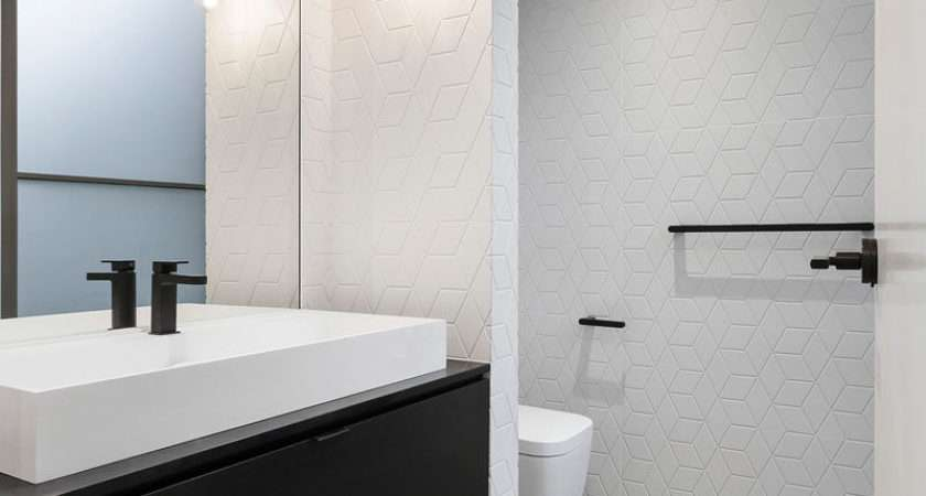 Ideas Creating Minimalist Bathroom Create Contrast Even